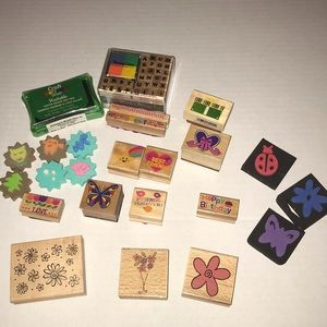 Other - Wooden and foam stamps